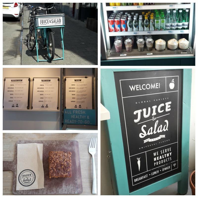wanderlust-blog.nl/Juice & Salad Collage