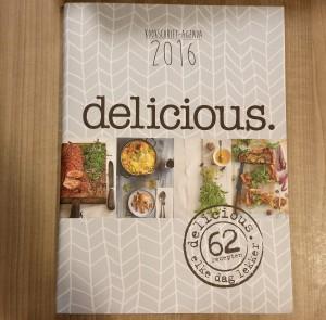 delicious. kookschrift-agenda 2016