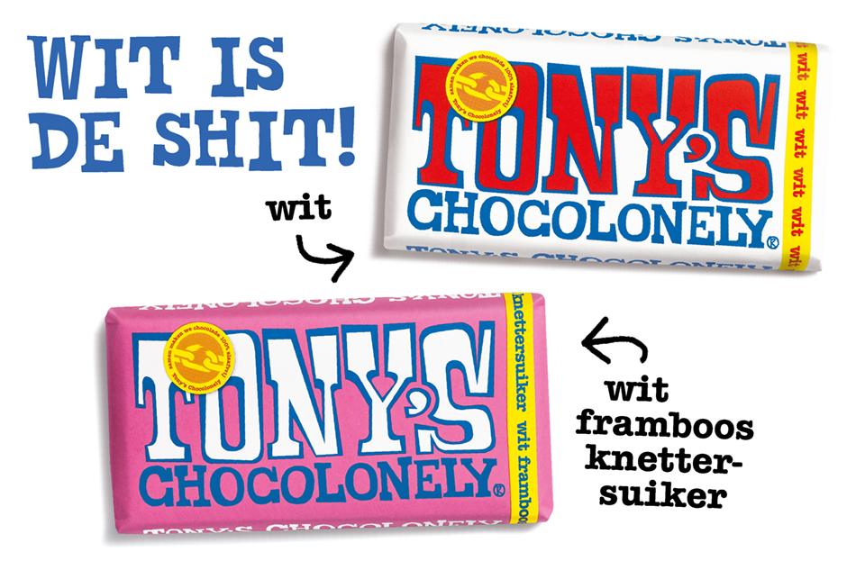 Tony's Chocolonely witte chocola